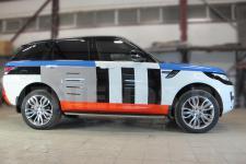 аэрография Range Rover Конструктор-рисунок3