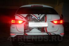 аэрография BMW X1 техно - аэрография №3