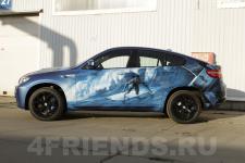 аэрография BMW X6 Серфинг - аэрография №5