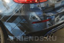 аэрография BMW X6 Серфинг - аэрография №7