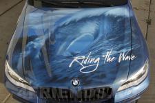 аэрография BMW X6 Серфинг - аэрография №8