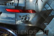 аэрография BMW X6 Серфинг - аэрография №11