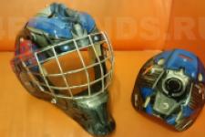 аэрография шлем Трансформеры - рисунок6