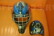 аэрография шлем Трансформеры - рисунок7