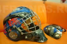 аэрография шлем Трансформеры - рисунок2
