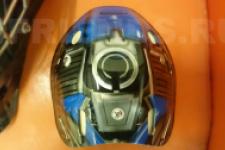 аэрография шлем Трансформеры - рисунок3
