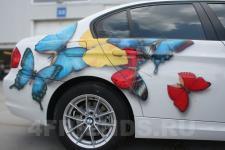 аэрография BMW 325 бабочки - аэрография №3
