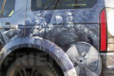 фотография №8 аэрография Range Rover Викинги