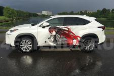 """аэрография Lexus NX """"Самурай Аниме"""" - фотография 2"""