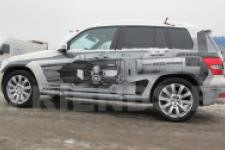 Mercedes GLK техно-рисунок1