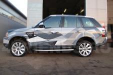 аэрография Range Rover Композиция   - фотография 2