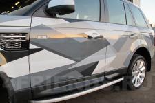 аэрография Range Rover Композиция   - фотография 3