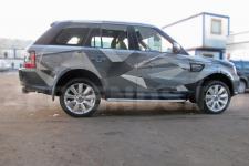 аэрография Range Rover Композиция   - фотография 5