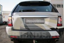 аэрография Range Rover Композиция   - фотография 4