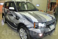 аэрография Range Rover Композиция   - фотография 6