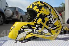Шлем хоккейный-рисунок1