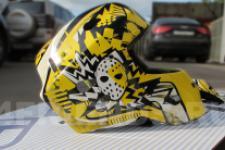Шлем хоккейный-рисунок2