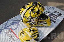 Шлем хоккейный-рисунок3