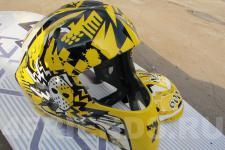 Шлем хоккейный-рисунок4