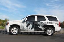 аэрография Chevrolet Tahoe Джокер - рисунок 1