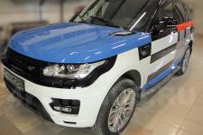 аэрография Range Rover Конструктор-рисунок6