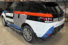 аэрография Range Rover Конструктор-рисунок4