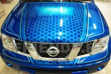 Аэрография Nissan Navara Соты - фотография 2