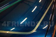 Аэрография Nissan Navara Соты - фотография 4