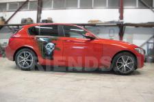 аэрография BMW X1 Панда   - фотография 3