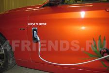 аэрография BMW X1 Панда   - фотография 5