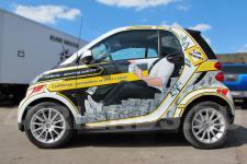 аэрография Smart для Car Money - фото1