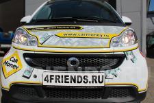 аэрография Smart для Car Money - фото4