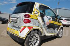 аэрография Smart для Car Money - фото2