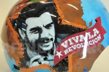 "аэрография Шлем ""Че Гевара"" - фото4"