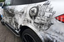 Porsche Cayenne Крейсера -  аэрография фото 7