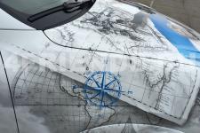 Porsche Cayenne Крейсера - аэрография фото 12