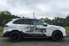 Porsche Cayenne Крейсера - аэрография фото  18