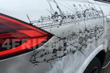 Porsche Cayenne Крейсера - аэрография фото 22