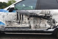 Porsche Cayenne Крейсера - аэрография фото 2