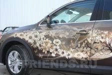 аэрография Audi Q3 Времена года - аэрография №7