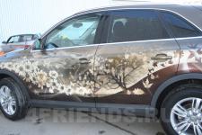аэрография Audi Q3 Времена года - аэрография №8