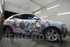 аэрография Audi Q3 Кеша   - фотография 2