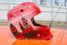 аэрография шлема Москва - аэрография №2