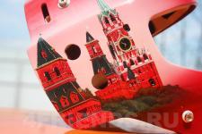 аэрография шлема Москва - аэрография №3