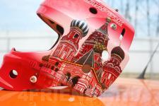 аэрография шлема Москва - аэрография №4