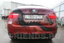Аэрография BMW X6 Дракон - фотография №7