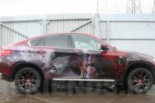 Аэрография BMW X6 Дракон - фотография №9