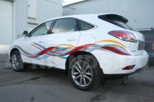 аэрография Lexus RX Линии - фотография 4