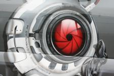 аэрография Toyota LC Prado Робот - аэрография №2