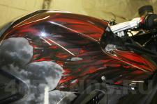 аэрография BMW мотоцикл Дракон   - фотография 3